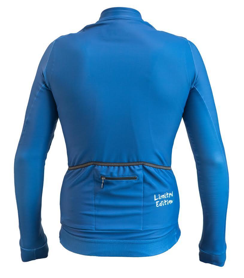 Maglia manica lunga invernale Limited Edition Blu