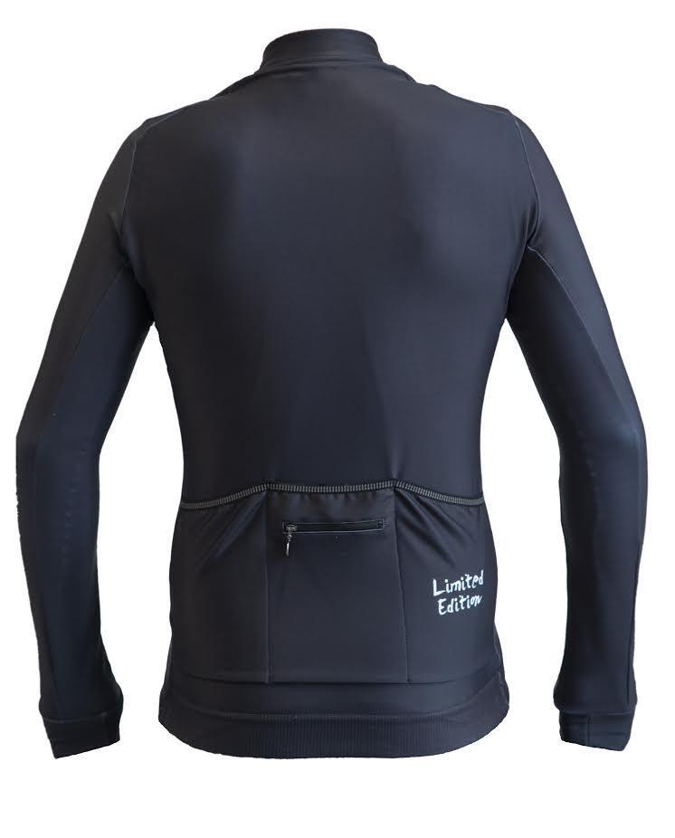 Maglia manica lunga invernale Limited Edition Nero